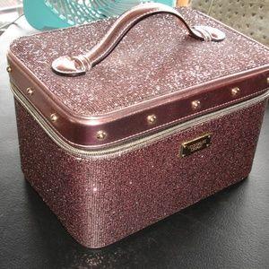Victoria's Secret Traincase Rose Gold Pink NWT